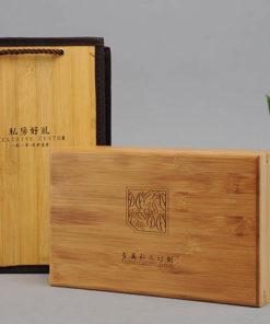 Bambus træboks