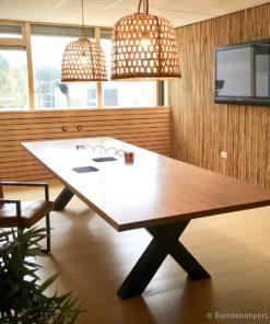 Bambus massivt byggemateriale